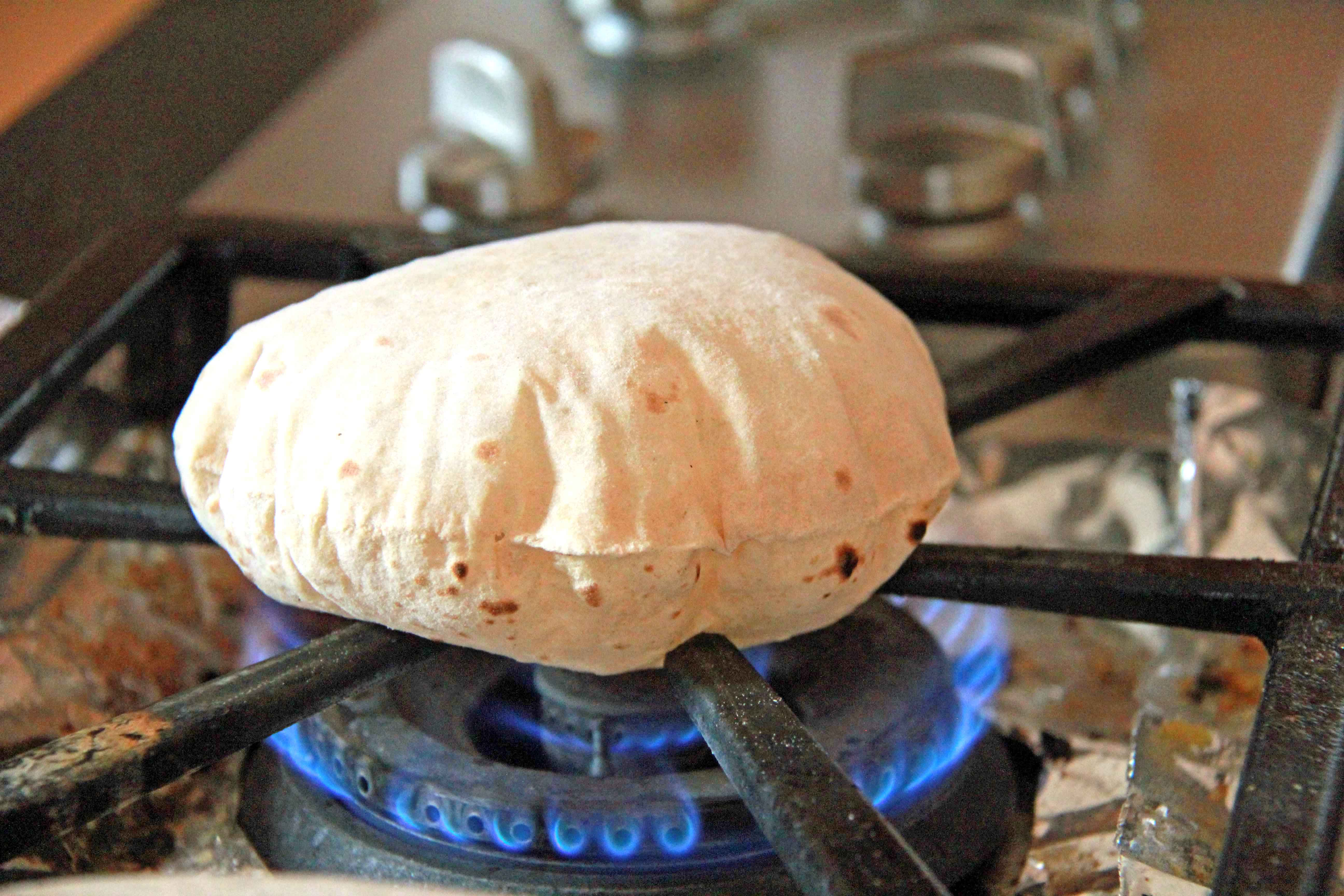 Puffing Rotli